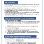 Front page of Census Guide for People with Disabilities fact sheet