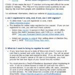 Front page of DVA April 2020 FAQ