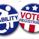Disability Voter Registration Week Buttons