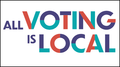 All Voting is Local logo