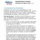 First page of voter restoration fact sheet