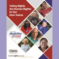 Front cover of Voting Rights are Human rights publication