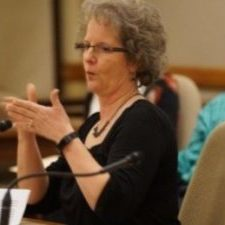 Denise Johnson testifying